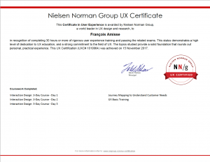 NN/g UX Certification - UXC#1019964