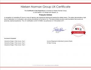 NN/g UX Certification - UXC#1019964