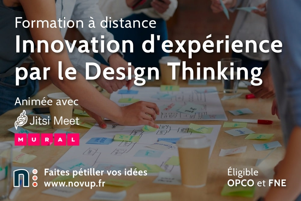 Formation à distance - Innovation d'expérience par le Design Thinking