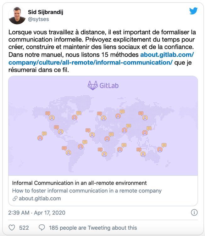 Concevoir officiellement des communications informelles